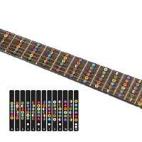 Fretboard Note Strips Decal Trainer Learner Guitar Fretboard Stickers