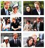 Royal Wedding Harry and Meghan Markle 6 Card Full Size POSTCARD Set #3
