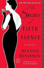 The Swans of Fifth Avenue, Benjamin, Melanie | Paperback Book | Acceptable | 978