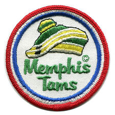 "1972-73 Memphis Tams Aba Basketball Vintage 3"" Round Team Logo Patch"
