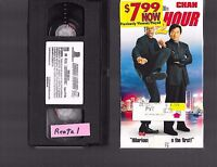 VHS - RUSH HOUR 2 - 2001 - JACKIE CHAN -=- Buy more and save!