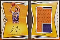 2019-20 Opulence Cameron Johnson RPA Rookie Patch Auto Booklet # 59/99! Mint SSP