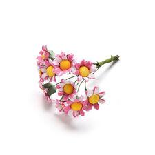 10 Pcs Mini Daisy Artificial Flowers Bouquet Scrapbooking Flower DIY Best TSCA