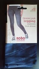 Denim Look Legging Women Sz S-M