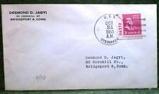 uss Steinaker DD-863 . United States Navy Naval Postal Cover Ship Boat Military