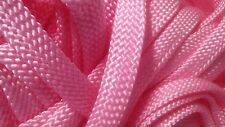 "5/8"" x 100 ft. Hollow/Flat Braid Mfp Rope Hank.High Quality. Light Pink. Usa"