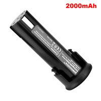 2.4V 2.0Ah Ni-Cd Battery For MILWAUKEE 48-11-0100, 6550-20 Cordless Screwdriver