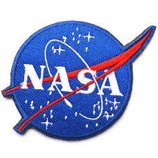 NASA Space Program Vector Patch Emblem Embroidered Hook & Loop EMBROIDERED PATCH