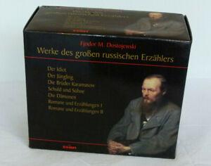 Fjodor M. Dostojewski - Werke des große russischen Erzählers - Box mit 7 Bänden