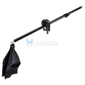 New Pro Phototography Studio Softbox Photo Boom Arm Grip Balance Sandbag
