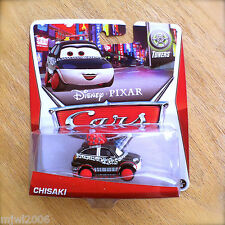 Disney PIXAR Cars CHISAKI on 2014 TUNERS THEME CARD 7/8 Tokyo party drift girl