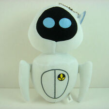 """HOT Pixcar Wall E EVE White Plush 6.5"""" Figure Suction Toy Doll + CHARM"""