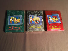 OS SIMPSONS DVD LOT SEASON 1 2 5 5A 2A 1A PORTUGUESE SEGUNDA THE
