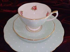 Royal Albert England 100 year Celebration Collection Tea Cup Trio