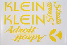 Klein Adroit Paint Mask Vinyl ~ Klein Frame, Strata Fork, Head-badge Vinyl