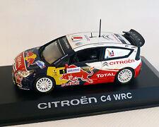 """Citroen C4 WRC """"d'""""Alsacia"""", 2010, NOREV 1:43"""