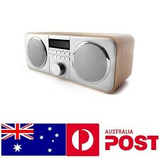 DAB+ Digital Mantle Radio Auto Scan FM RDS Alarm Clock AUX-in Wood Birthday Gift
