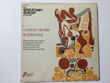 George Crumb - Madrigals 1973 vinyl Lp Turnabout Tv-S 34523 factory Sealed