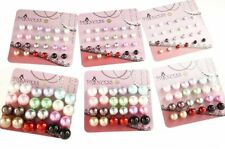 Butterfly Fastening Pearl Alloy Fashion Earrings