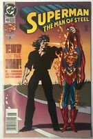 SUPERMAN THE MAN OF STEEL END OF THE ROAD #45 DC COMIC BOOK 1995