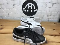 PUMA Smash V2 Sneakers Men's Shoes ~ Black ~ White