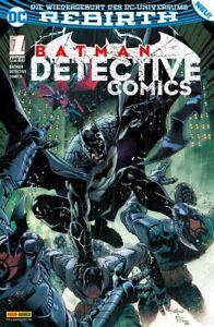 °REBIRTH: BATMAN DETECTIVE COMICS#1° wiedergeburth des DC Universum Panini 2017