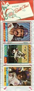 1976 Topps Baseball Holiday Christmas Rack Pack Rookie RC? HOF Dave Lopes Top