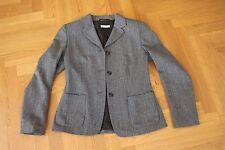 Schwarz weiß Woll Blazer für Damen s. Oliver in Größe 38 40 – zweimal getragen-