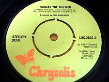 "STEELEYE SPAN - THOMAS THE RHYMER   7"" VINYL"