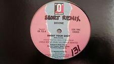 Divine (Bobby Orlando) - Shoot your shot US 12'' Disco Vinyl