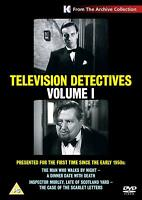 Television Detectives Volume 1 DVD Man Who Walks By Night Daet with Death