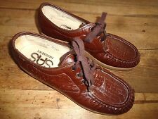 SAS  Comfort Walking Shoes - Brown ~ Women's Sz 8 N ~ Narrow
