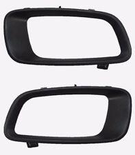 Pair Left Right Fog Light Lamp Cover Frame For Mitsubishi Pajero MONTERO 00-03