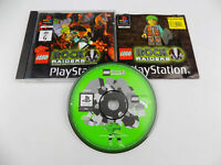 Mint Disc Playstation 1 Ps1 Lego Rock Raiders AUS PAL Free Postage
