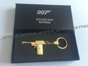 OFFICIAL JAMES BOND 007 The Man With The Golden Gun KEYRING NEW GIFT