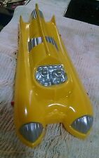 Vintage 1950's Plastic Space Car Toy NOS MINT! Mid Century Atomic Rocket Robots!