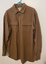 Vintage LL BEAN Chamois camp Flannel shirt  XLT Extra Large tall 0 MT04 STAIN