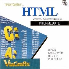 Teach Yourself HTML INTERMEDIATE Tutorial NEW PC CD-ROM