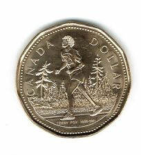 2005 Canadian Commemorative Brilliant Uncirculated Terry Fox $1 Coin!