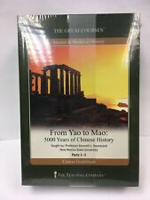 Great Courses DVD From Yao to Mao 5000 Years of Chinese History by Hammond