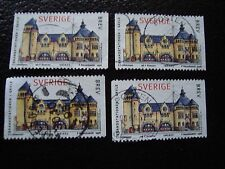 SUEDE - timbre yvert et tellier n° 2021 x4 obl (A29) stamp sweden (R)