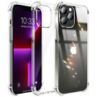 For iPhone 13,Mini,13 Pro Max Case Clear Soft Cover/Camera/Full Screen Protector