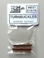 TURNBUCKLES HO 1:87 SCALE LAYOUT DIORAMA TICHY TRAINS 8021