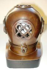 "Deep Blue watches  - Genuine Brass Helmet 7"" For Holding 1 watch"
