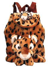 CALPLUSH BACKPACK PALS 2 HEAD TIGER PLUSH BACKPACK AGES 3+ *NEW*