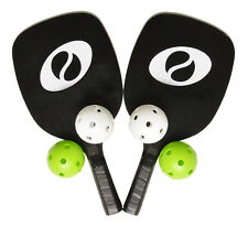 Optima Pickleball Set, 2 Paddles, 4 Pickleballs