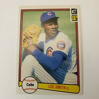 1982 Donruss #252 - Lee Smith RC - Chicago Cubs Rookie Card