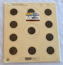 Outers National Rifle Association A-17, Offical 50ft Small Bore Rifle Targets