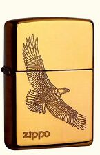 Zippo Eagle Brass