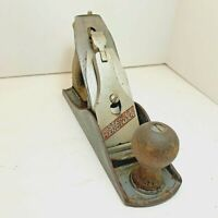 Vintage Stanley Handyman Woodworking Plane Carpenter Tool Made In USA